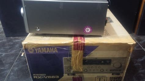 Home Theater Di Bandung jual yamaha rx v661 home theater receiver with hdmi di