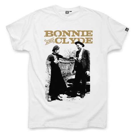 bonnie and clyde white t shirt t shirt for bonnie and clyde white by coontak