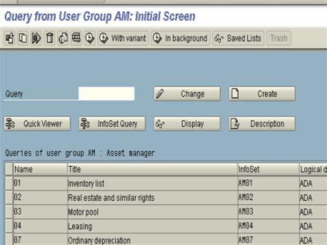Sap Query Tutorial Sq01 | abap query tutorial in sap sq01 sq02 sq03
