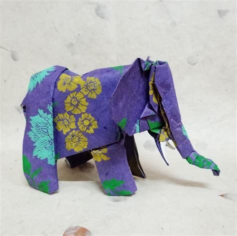 Origami Elephants - 31 origami elephants to fold for the elephantorigamichallenge