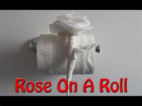 toilet paper origami flower tutorial diy toilet paper rose tutorial diy how to make youtube