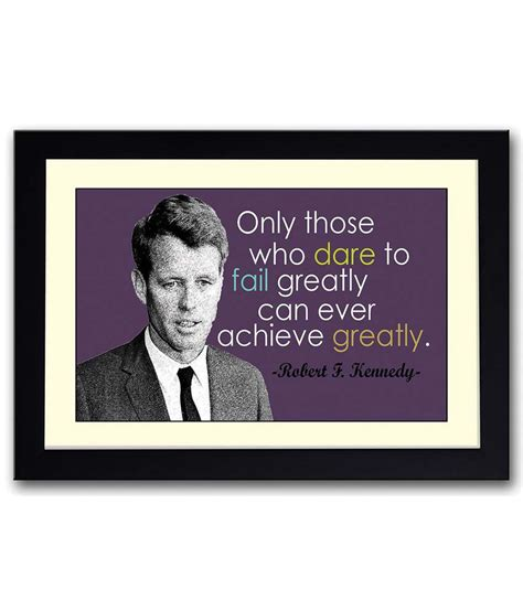 Wood Frame Poster Quotes Edition 05 artifa robert f kennedy inspirational quote wooden framed poster buy artifa robert f kennedy