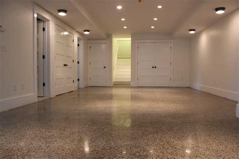 polished concrete basement floor polished concrete floor modern house