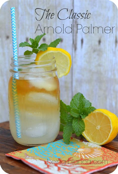 Happy Hour Arnold Palmer by The Classic Arnold Palmer Non Alcoholic But Can Be Kicked