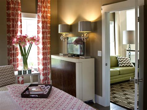 guest bedroom smartly designed for maximum relaxation hgtv learn how to brighten your space with color hgtv s