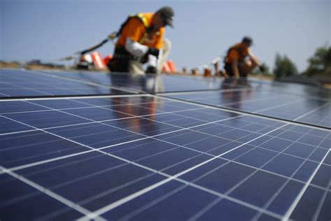 solar panels install how solar energy is outpacing the coal industry business