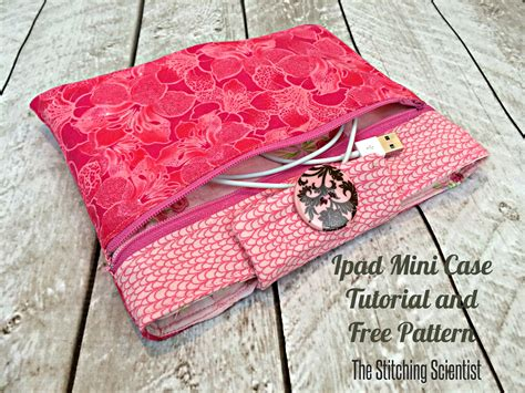 sewing pattern ipad case ipad mini case tutorial with free pattern the stitching