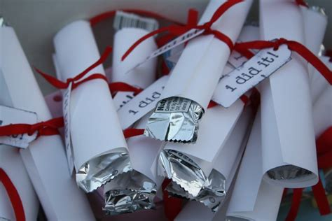 Graduation Giveaways - graduation diploma favors b lovely events