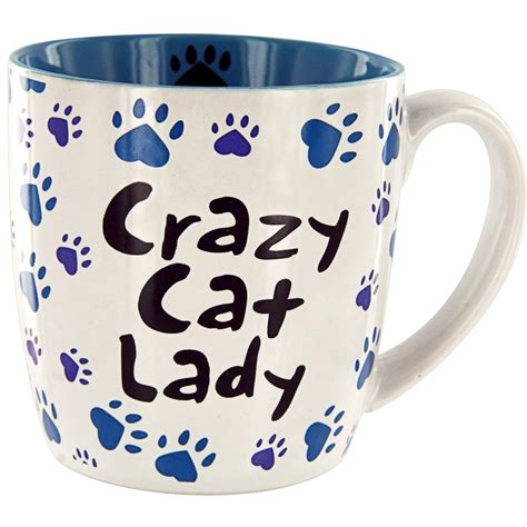 crazy mugs crazy cat lady grande mug the animal rescue site