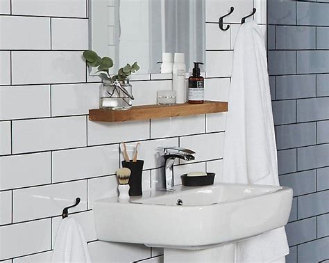 bathroom shelf over sink bathroom with shelving above sink hauspiration
