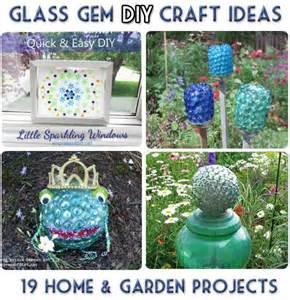 Craft Home And Garden Ideas Glass Gem Garden Craft Ideas 19 Projects Empress