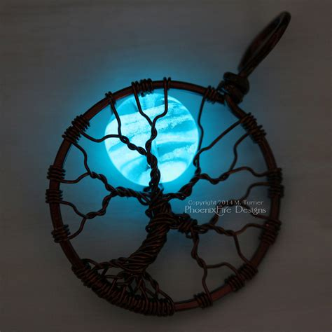 how to make glow in the jewelry phoenixfire designs the 187 tree of pendants