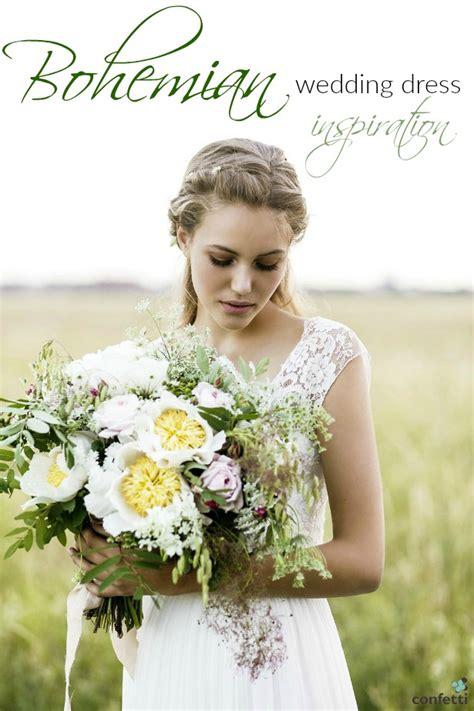 Wedding Inspiration Uk by Bohemian Wedding Dress Inspiration Confetti Co Uk