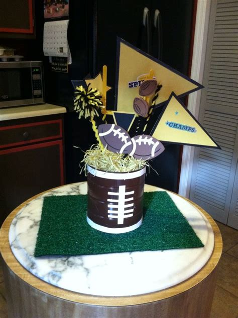 soccer banquet centerpieces 17 best images about football banquet centerpieces on