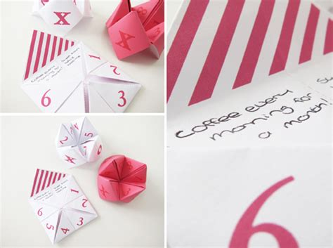 Fortune Teller Paper Craft - fortune teller craft diys the pretty