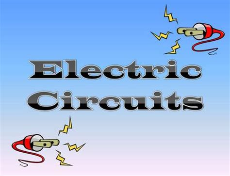 electric circuit powerpoint amstistuff 4th electric circuits