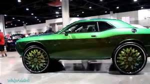 whipaddict dodge challenger on dub savant 32s v103 car