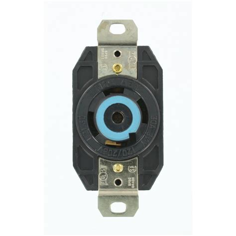 leviton 30 120 208 volt 3 phase flush mounting
