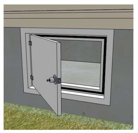 How To Inspect And Correct A Vented Crawlspace Internachi Interior Crawl Space Access Door