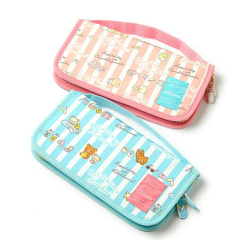 8 Kawaii Accessories by Care Travel Item Passport Rilakkuma Sumikko