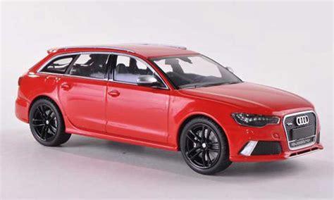 audi rs avant red  minichamps diecast model car