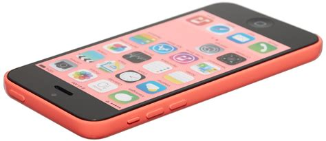 Hp Iphone 5c Pink apple iphone 5c 8gb smartphone cricket wireless pink fair condition used cell phones