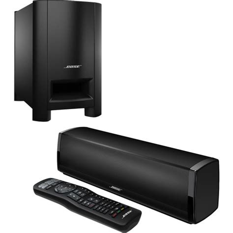 bose cinemate 15 home theater speaker system black