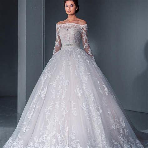 vintage 2016 ball gown wedding dress off shoulder