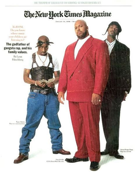 Row Records Magazine Cover 18th Anniversary Of Suge Tupac Snoop Dogg S Appearance On The Cover Of Ny