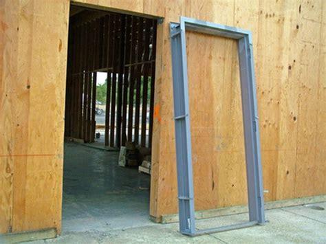 install hollow metal door frames hunker