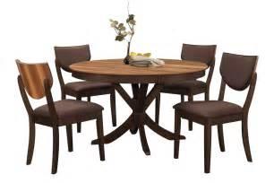 Turner Bedroom Furniture Turner Dining Table 4 Brown Side Chairs