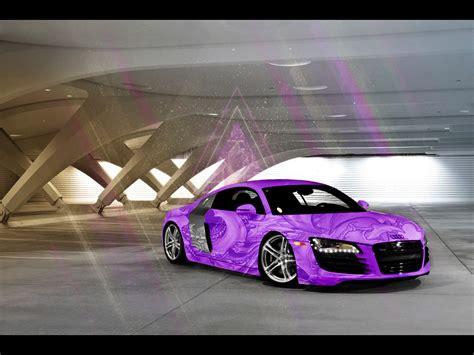Audi R8 for Da purple day by Osama7 on DeviantArt