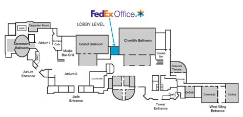 hilton anatole floor plan hilton anatole dallas texas fedex office