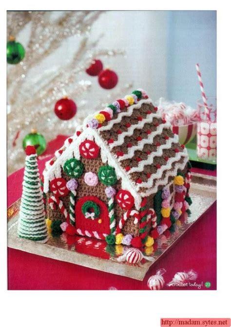 crochet house pattern free 120 free wonderful christmas crochet patterns to make