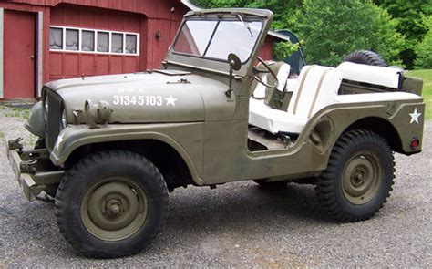 53 Willys Jeep 1953 Willys M38 A1 Jeep