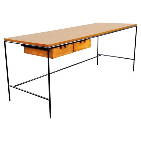 paul mccobb winchendon iron and maple coffee table at 1stdibs