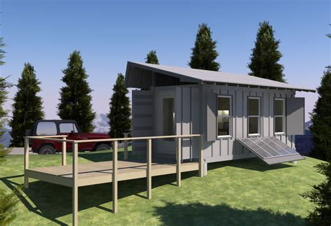 shipping container cottage shipping container based remote cabin design