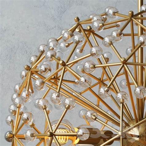 elm ceiling light 3d models ceiling light elm floral burst chandelier