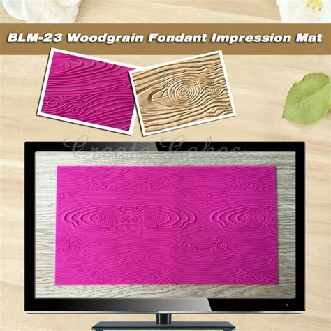 Impression Mat For Cakes by Woodgrain Fondant Impression Mat 447x240mm Fondant