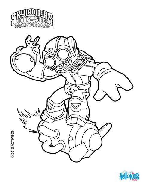 skylanders coloring pages and coloring on pinterest
