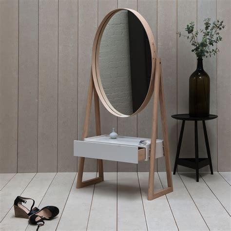 Cheval Mirror With Drawer by Iona Drawer Cheval Mirror Pinch The Future