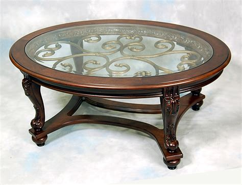 norcastle oval cocktail table end table sofa table and