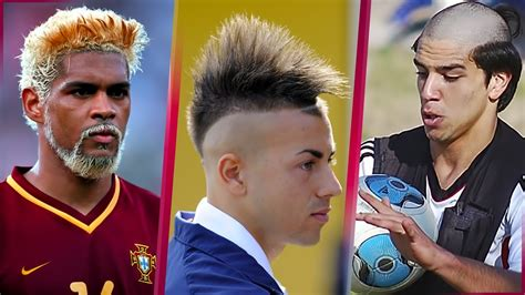 whats the haircut most soccer players get the 40 ugliest funny and cool hairstyles in football