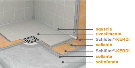 impermeabilizzazione doccia guaina impermeabilizzante kerdi schluter