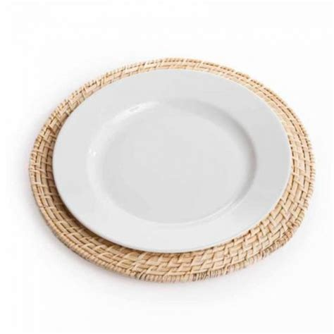 Modern House Ideas picture of rattan charger plates modern house design