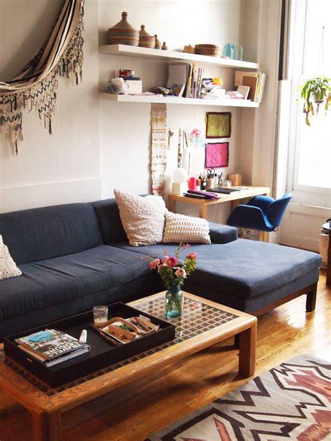 desk in living room apartment amazing details in fort greene design sponge