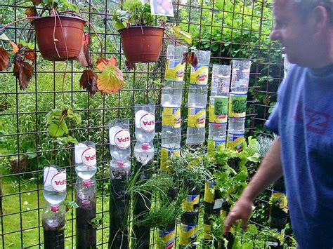 Vertical Garden Materials Build A Vertical Garden From Recycled Soda Bottles Diy