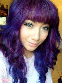 purple hair color pictures april fool purple hair