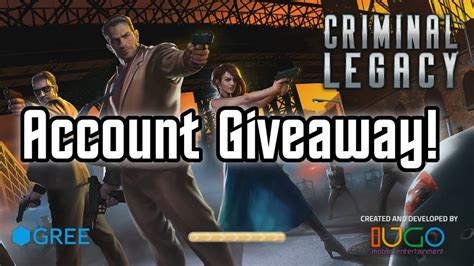 criminal legacy account giveaway ends wednesday 29th of october boom beach - Boom Beach Account Giveaway