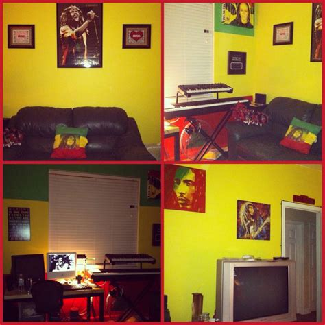 bob marley bedroom decor my rasta bob marley themed room room painting ideas